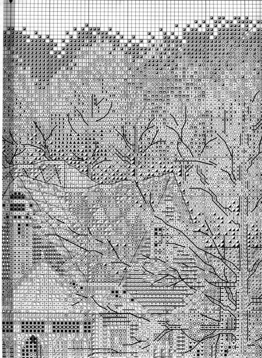 Схема вышивки Викторианский коттедж (Bucilla) 3 из 6