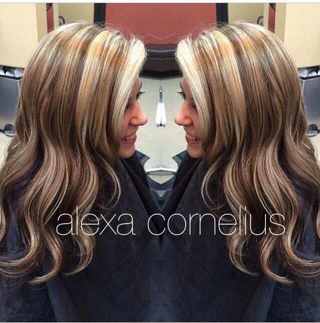 Multi Dimensional Highlights And Lowlights Hair Hair Styles