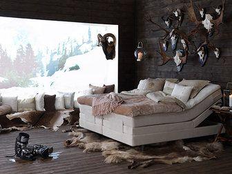 Bilder, Sovrum, Carpe Diem Beds of Sweden, Renfäll, Fjällen, Sängkläder, Ställbar säng, Kuddar, Säng - Hemnet Inspiration