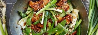 Chicken & Spring Onion Stir-Fry