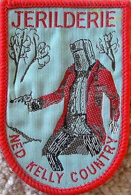 Souvenir collector cloth patch Jerilderie Ned Kelly Country Australia