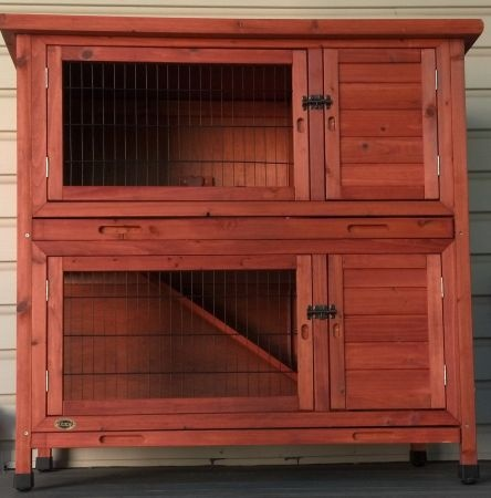 162 best images about rabbit hutch on pinterest guinea for 2 story guinea pig cages for sale