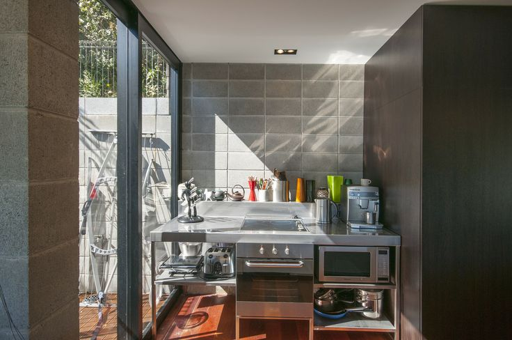 Stainless Kitchen joinery