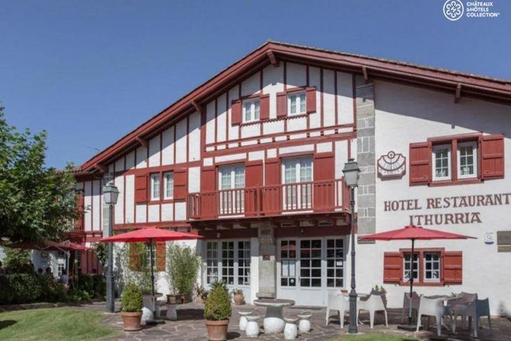 Profitieren Sie von einem Aufenthalt im französischen Baskenland und übernachten Sie im Hotel Ithurria... Kunst des Reisens mit Bontourism®