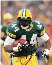 NAJEH DAVENPORT GREEN BAY PACKERS SIGNED AUTOGRAPHED 8X10 PHOTO W/COA