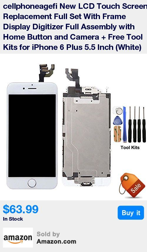 Compatible With:iPhone 6 Plus 5.5 inch.White.Please recognize cellphoneage®(Fixing_DIY) Shop. * Each screen is 100% tested before shipping and 100% working.New and never used,please bid with confidence.LCD screen replacement with home button and camera. * Combine a LCD display with a touch screen digitizer,used to repair faulty LCD display and touch screen digitizer.Highest Quality LCD Available on the Market.Blends high quality material with cutting edge tech. * Easy Installation:best insta