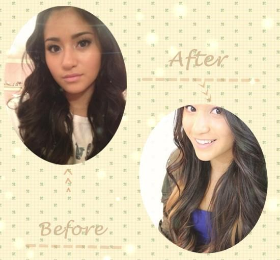 55 best hair extensions before and after images on pinterest brown hair extensions can make 5 simple hairstyles for daily life pmusecretfo Image collections