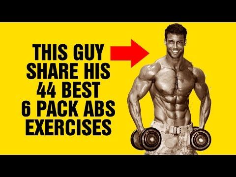 Cover Model Share His 44 Best 6 Pack Abs Exercises Of All Time - SixPackFactory