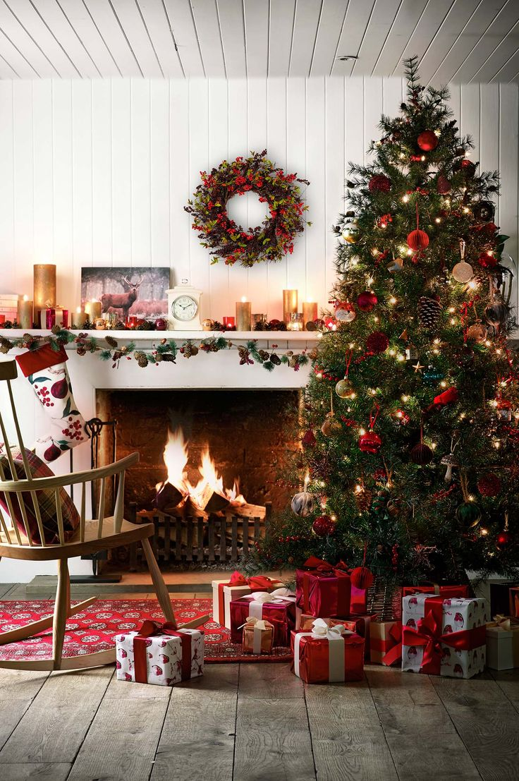 30 Most amazing Christmas decorated trees for