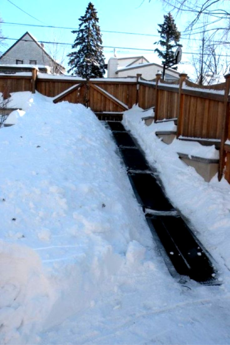 Kimberly Easily Clears Snow Off The Driveway From Hell Heattrak Collection Pinterest Driveways
