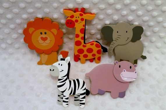 Decorative Outlet Socket Covers Jungle Zoo Animals Baby and Kids ...