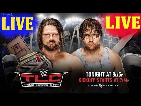 WWE TLC 2016 Live Stream - WWE TLC 12/04/2016 Live Stream