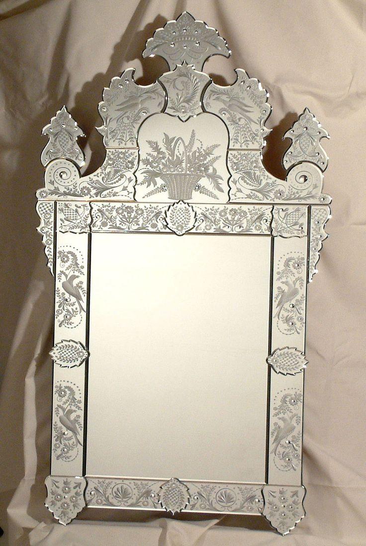 die besten 25 venezianische spiegel ideen auf pinterest. Black Bedroom Furniture Sets. Home Design Ideas