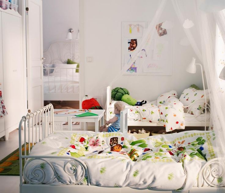 bedroom the beautiful design of ikea children bedroom with white wallalso white glass window and