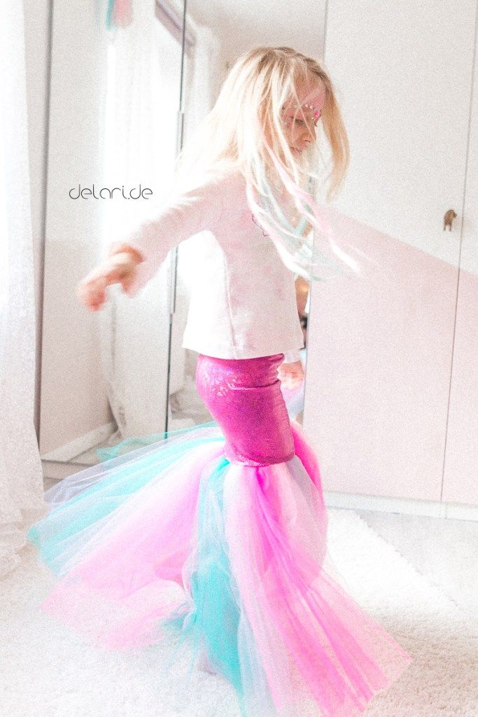 Mermaid Mermaid Costume Kids DIY Sewing Carnival Carnival