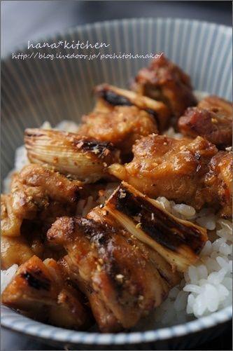 焼き鳥で簡単♪焼き鳥丼のレシピ。と、おいしいタレの秘密。 by はなこ ...