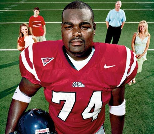Michael Oher, and family