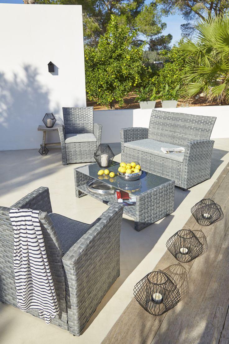 les 157 meilleures images du tableau ambiances jardin terrasse balcons sur pinterest. Black Bedroom Furniture Sets. Home Design Ideas