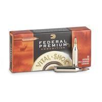 Federal Premium Vital-Shok, .300 Winchester Magnum, Trophy Copper BT, 165 Grain, 20 Rounds: Federal Premium Vital-Shok, .300 Winchester…