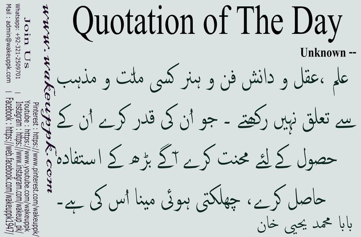 "Urdu Quotes / Urdu Sayings       ""Baba Yahya Khan"""