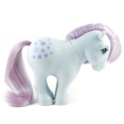 Blue Belle with FF [MLP My Little Pony G1 Hasbro]
