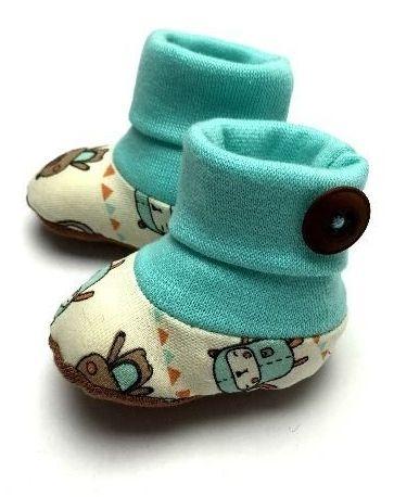 Babysocken für Sommer oder Winter – Schnittmuster und …   – Nähen fürs Baby