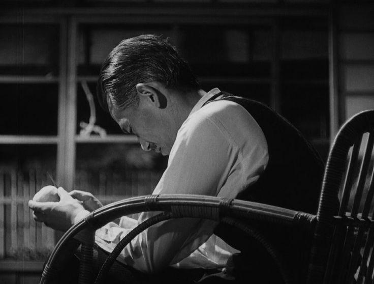 小津安二郎監督「晩春」1949年/笠智衆