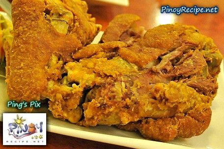 Learn how to cook Crispy Pata. Crispy Pata is one of the famous dish served in many popular restaurant in the Philippines and in other parts of the world where there is Filipino restaurant.    Read more: http://www.pinoyrecipe.net/crispy-pata-recipe-learn-how-to-cook-crispy-pata/