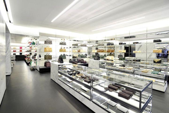 Saint Laurent flagship boutique Paris 05