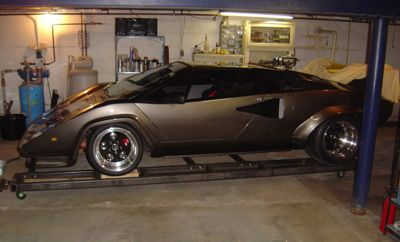 Miller - Lamborghini Built in Basement by DIY Welding Enthusiast Using Miller TIG Welder, Home Fabrication Equipment