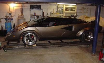 Miller - Lamborghini Built in Basement by DIY Welding Enthusiast Using Miller TIG Welder, Home Fabrication Equipment
