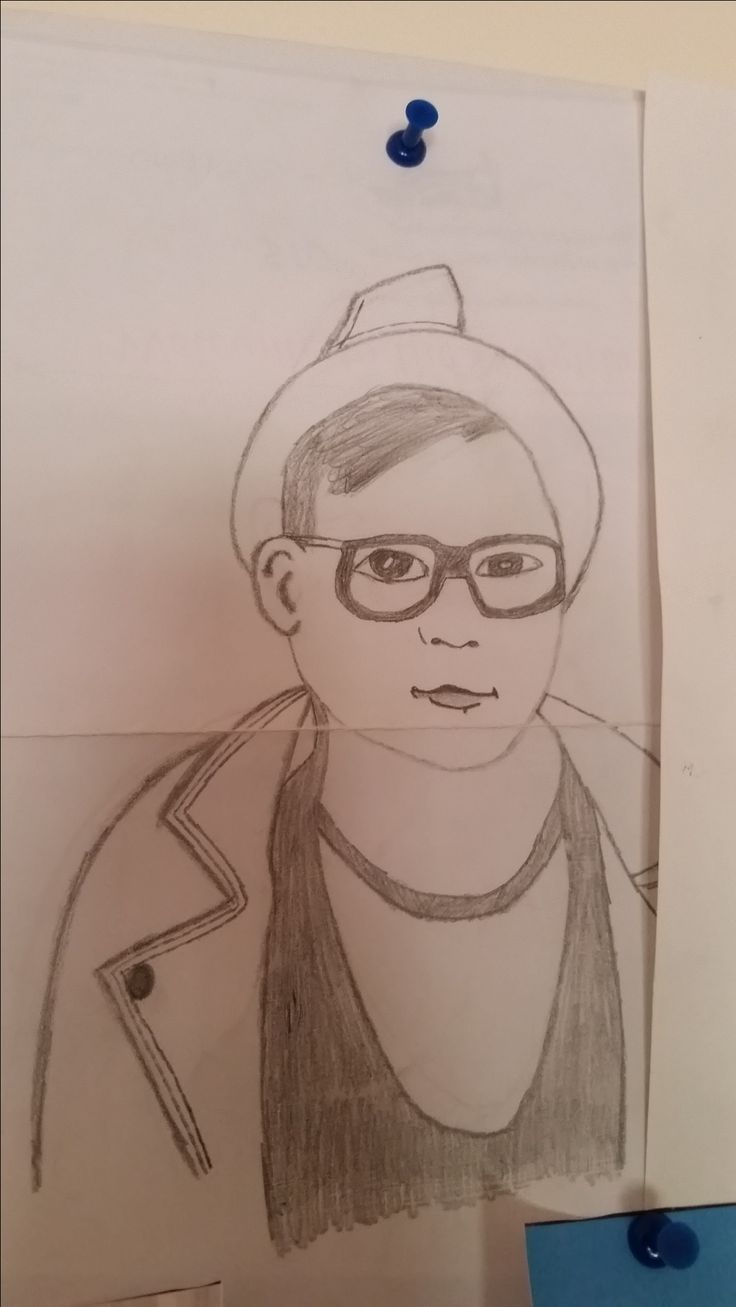 My Drawing Patrick Stump- The Phoenix Music Video