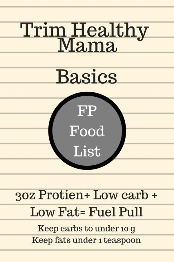 A Guide On Fuel Pull Foods And Numbers When Following The Trim Healthy Mama Plan Include Trim Healthy Mama Plan Trim Healthy Momma Trim Healthy Mama Meal Plan
