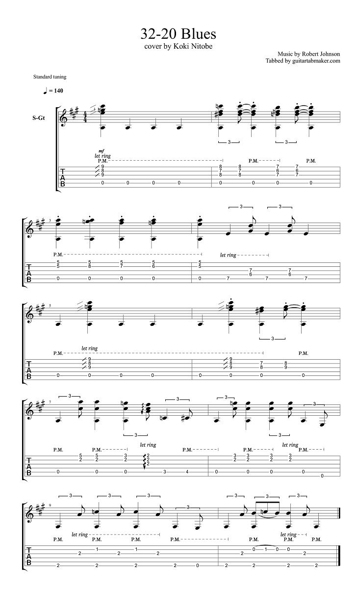 32 20 Blues Guitar Tabs Acoustic Fingerpicking Guitar Songs Pdf Acoustic Guitar Sheet Music Download Guitar Jazz Guitar Chords Guitar Songs Learn Guitar