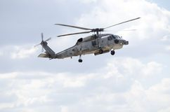 Sikorsky uh 60 navy front Royalty Free Stock Photo