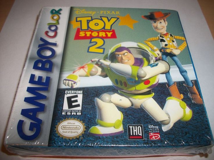 Factory Sealed - BNIP- Toy Story 2 (Nintendo Game Boy Color, 1999) FREE SHIPPING #THQ