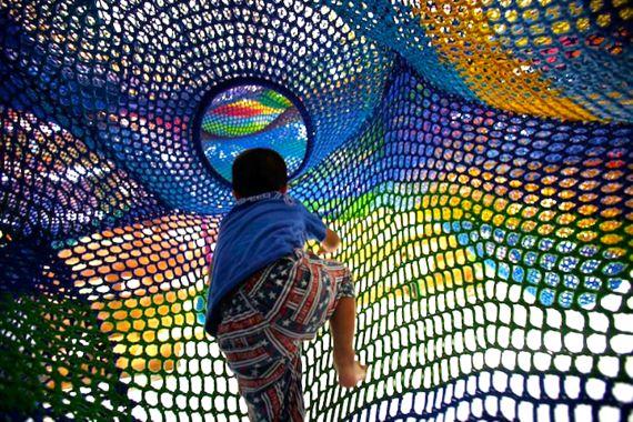 Hand-Knit Playground by Toshiko Horiuchi MacAdam