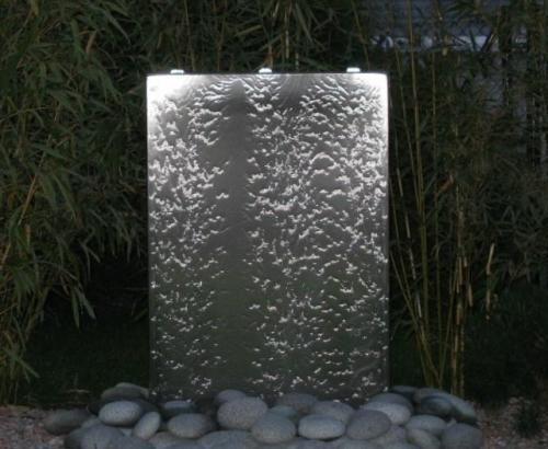 Gartenbrunnen Wasserwand Shape Wasserwand Auen Haus