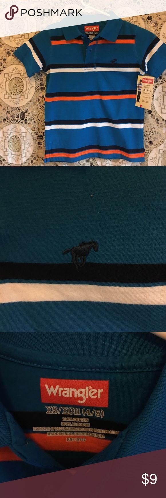 Wrangler striped polo top boys, Easter Great shirt for Easter Wrangler striped polo shirt Wrangler Shirts & Tops Polos