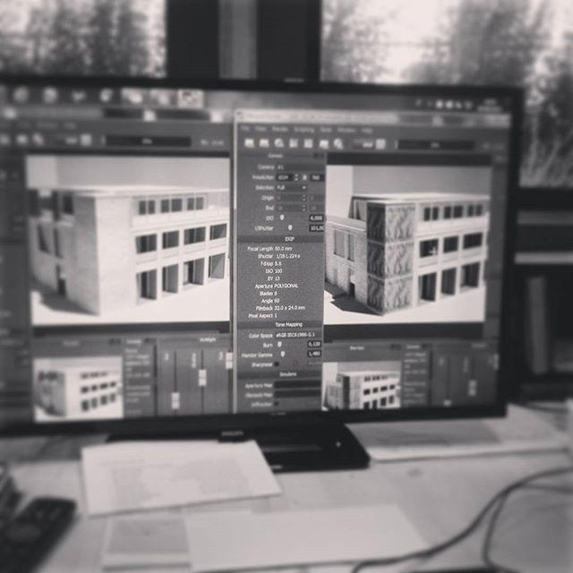 #DEARstudio, modelli a confronto... #rendering #models #architettibattipaglia