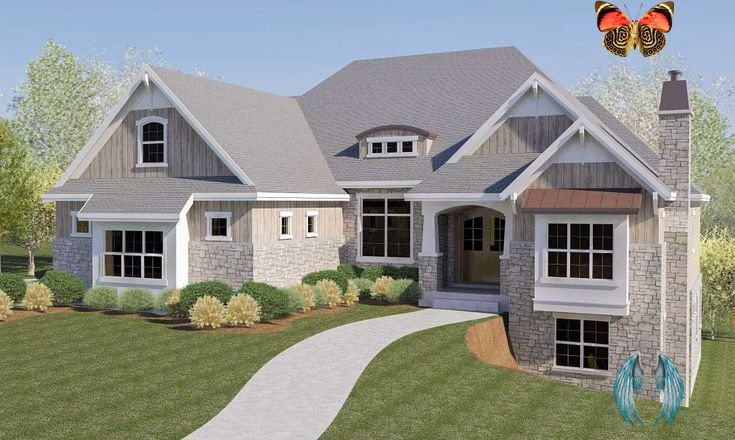 Plan 290032iy Craftsman House Plan With Rv Garage And Walkout Basement Plan 290032iy Craftsman House Plan With Rv Garage And Walkout Basement Br
