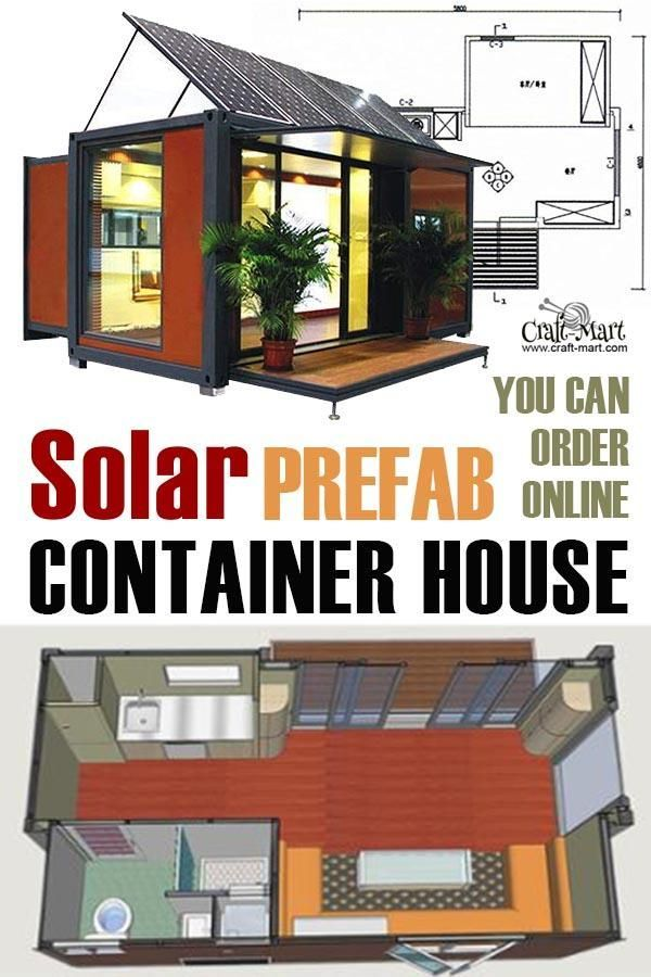 Prefab Tiny Houses You Can Order Online Right Now Craft Mart Prefab Container Homes Container House Pre Fab Tiny House
