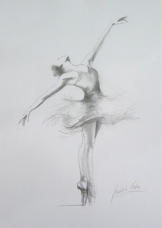 ❤️Ballet ~ Pencil Drawings: