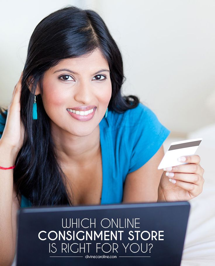 Check out which online consignment stores offer the best services to fit your buying and selling needs. #divinecaroline #consignment