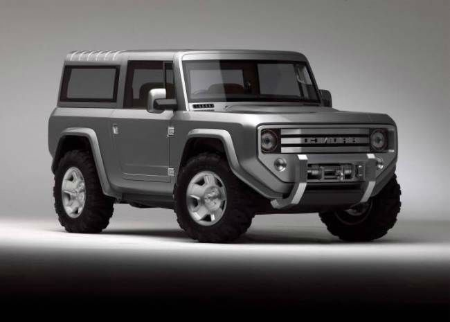 2017 Ford Bronco II                                                       …