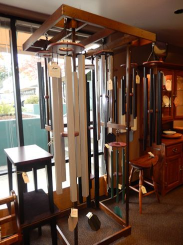 Amish Crafted Wind Chimes In A Variety Of Colors And Sizes. These Chimes  Are Not