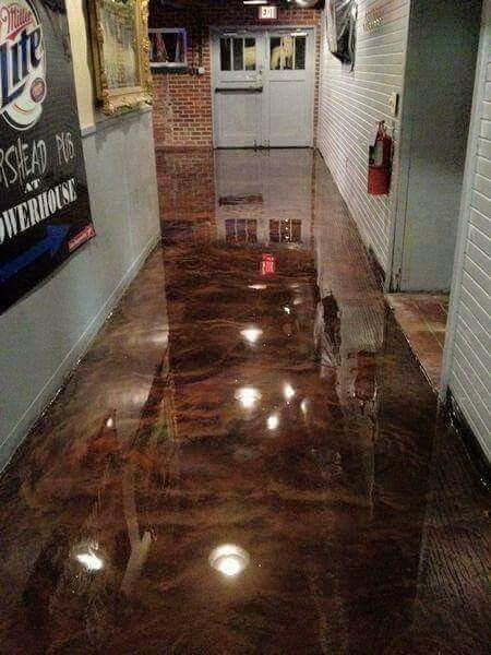 A Complete Guide For How To Choose The Painted Concrete Floor Type Your Home Or Garage Acrylic Polyurethane And Epoxy Paint