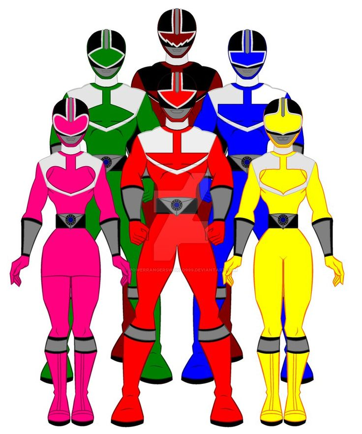 9. Power Rangers Time Force by PowerRangersWorld999