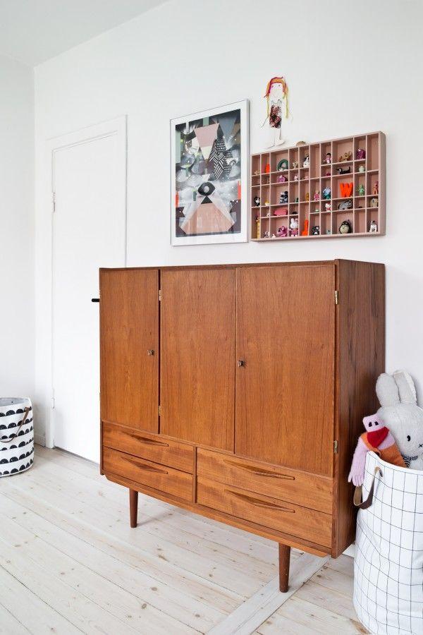 Børneværelse, kidsroom, modern, retro