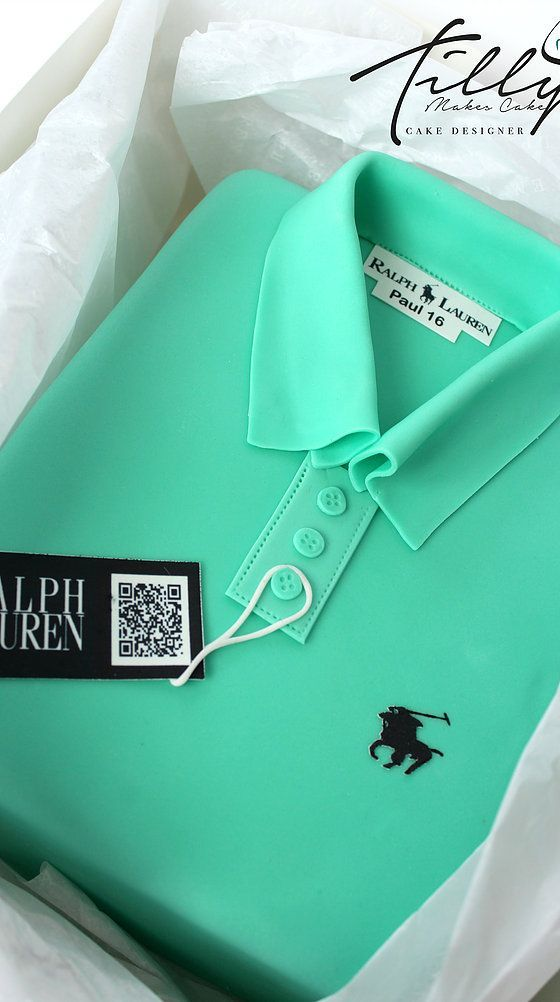 Ralph Lauren polo shirt cake birthay tilly makes cake glasgow - shirts, green, vintage, tie dye, long, mom shirt *ad
